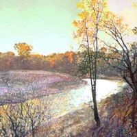 Autumn in Lošice by Alexander Vlasyuk - search and link Fine Art with ARTdefs.com