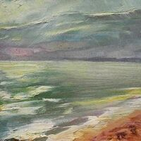 The sea ... The sky ... Crimea-2008 by Alexander Vlasyuk - search and link Fine Art with ARTdefs.com