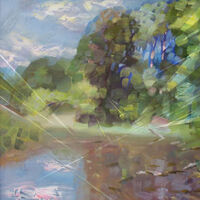 July light by Alexander Vlasyuk - search and link Fine Art with ARTdefs.com