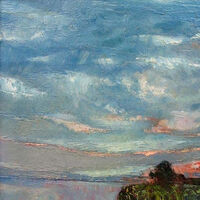Evening clouds by Alexander Vlasyuk - search and link Fine Art with ARTdefs.com