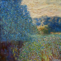 Morning textures by Alexander Vlasyuk - search and link Fine Art with ARTdefs.com