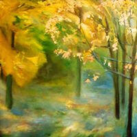 Wet Autumn by Alexander Vlasyuk - search and link Fine Art with ARTdefs.com