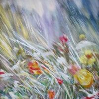 In the stream of light by Alexander Vlasyuk - search and link Fine Art with ARTdefs.com