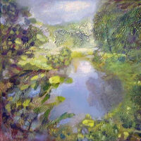 Pond-1 by Alexander Vlasyuk - search and link Fine Art with ARTdefs.com