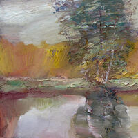 Autumn Reflections-2 by Alexander Vlasyuk - search and link Fine Art with ARTdefs.com