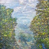 Summer Mirage by Alexander Vlasyuk - search and link Fine Art with ARTdefs.com