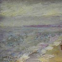 Crimea. On the shore of the Black Sea. by Alexander Vlasyuk - search and link Fine Art with ARTdefs.com