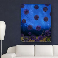 Globe Thistle Scotland by Andrea DiFiore - search and link Fine Art with ARTdefs.com