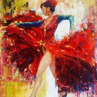 bailarinas (serie) by Cristian Mesa Velázquez - search and link Fine Art with ARTdefs.com
