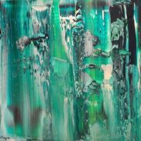 Green Glass of Ocean by Gaya Karapetyan - search and link Fine Art with ARTdefs.com