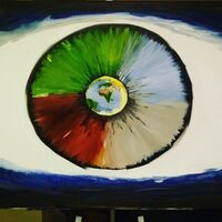 Eye of the Beholder by Junior Ikpe - search and link Fine Art with ARTdefs.com