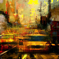hot afternoon by Joe Ganech - search and link Fine Art with ARTdefs.com
