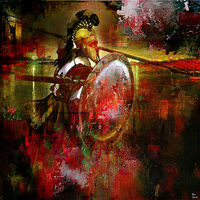The Spartan by Joe Ganech - search and link Fine Art with ARTdefs.com