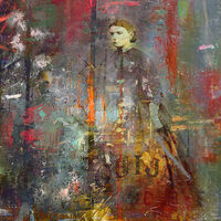 Psychic by Joe Ganech - search and link Fine Art with ARTdefs.com