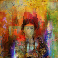 Woman samurai by Joe Ganech - search and link Fine Art with ARTdefs.com