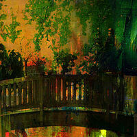 The bridge of Central Park by Joe Ganech - search and link Fine Art with ARTdefs.com