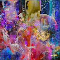 Faire abstraction 5 by Joe Ganech - search and link Fine Art with ARTdefs.com