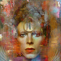 Ziggy in the sky by Joe Ganech - search and link Fine Art with ARTdefs.com