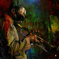 Miles D. by Joe Ganech - search and link Fine Art with ARTdefs.com
