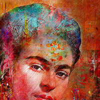 Frida K. by Joe Ganech - search and link Fine Art with ARTdefs.com