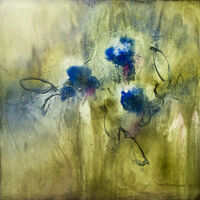 Garden Song 1 by Julie Quinn - search and link Fine Art with ARTdefs.com