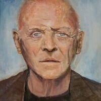 Anthony Hopkins by Patrick Turner-Lee - search and link Fine Art with ARTdefs.com