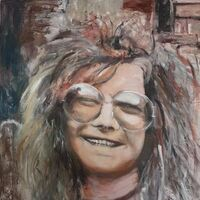 Janis Joplin by Patrick Turner-Lee - search and link Fine Art with ARTdefs.com