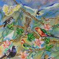 Collage by Susan Willemse - search and link Fine Art with ARTdefs.com