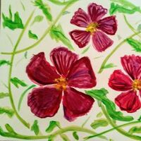 Power Blooms by Susan Royer - search and link Fine Art with ARTdefs.com