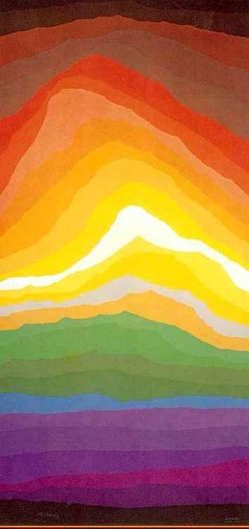 Volcano by Arthur Secunda - search and link Fine Art with ARTdefs.com