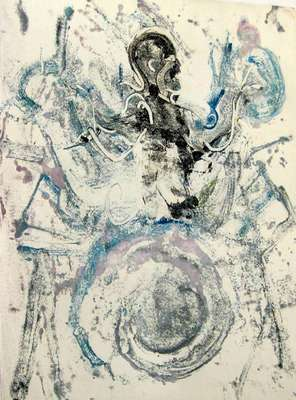 Gene Krupa by Arthur Secunda - search and link Fine Art with ARTdefs.com