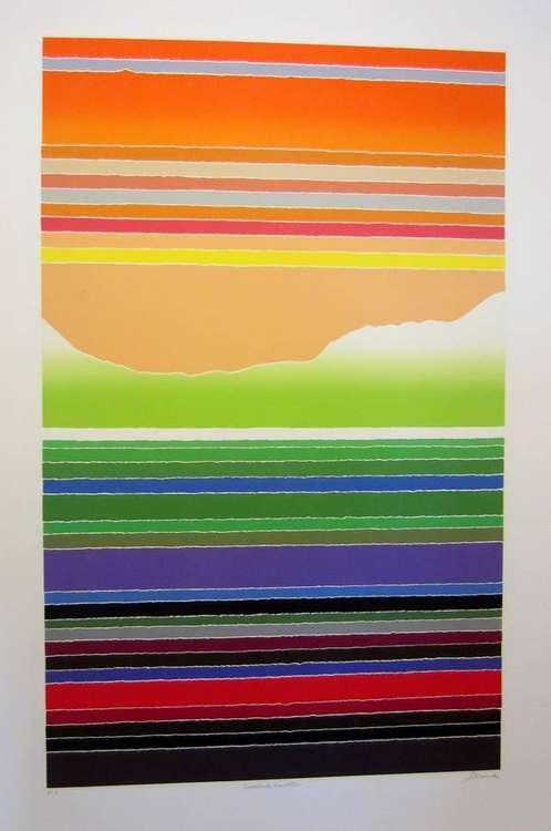 Saddleback Mountain by Arthur Secunda - search and link Fine Art with ARTdefs.com