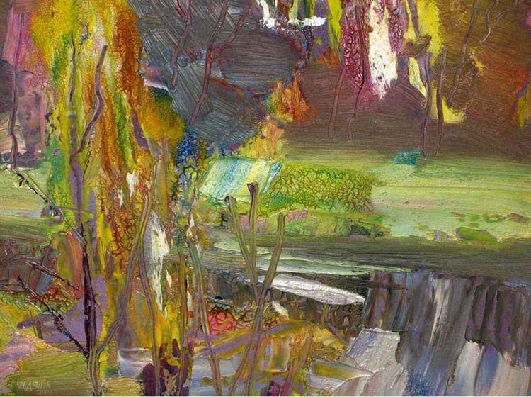 Autumn sketch by Alexander Vlasyuk - search and link Fine Art with ARTdefs.com