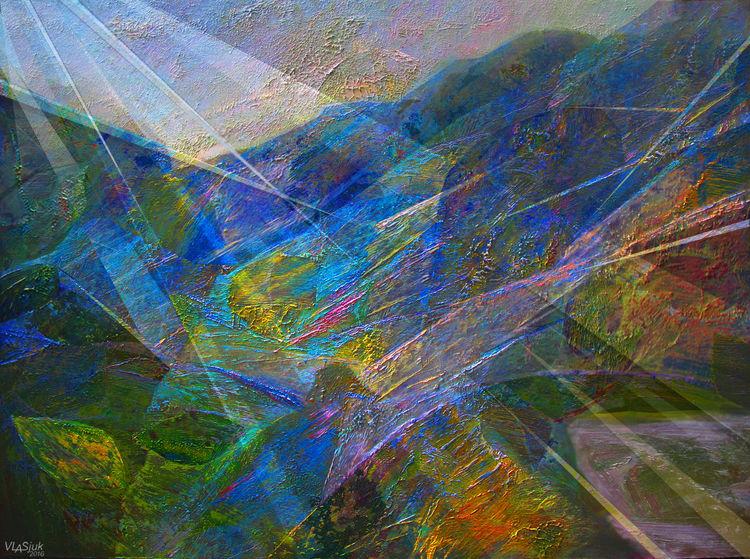 Morning. Play of light by Alexander Vlasyuk - search and link Fine Art with ARTdefs.com