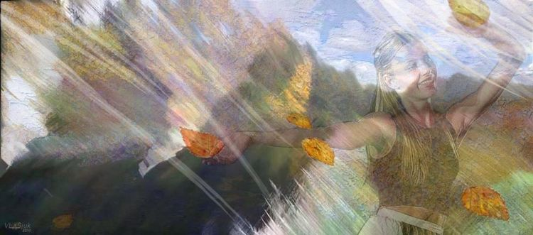 Mirages of Autumn by Alexander Vlasyuk - search and link Fine Art with ARTdefs.com