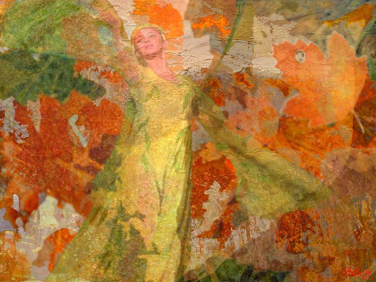 Dance of Autumn by Alexander Vlasyuk - search and link Fine Art with ARTdefs.com