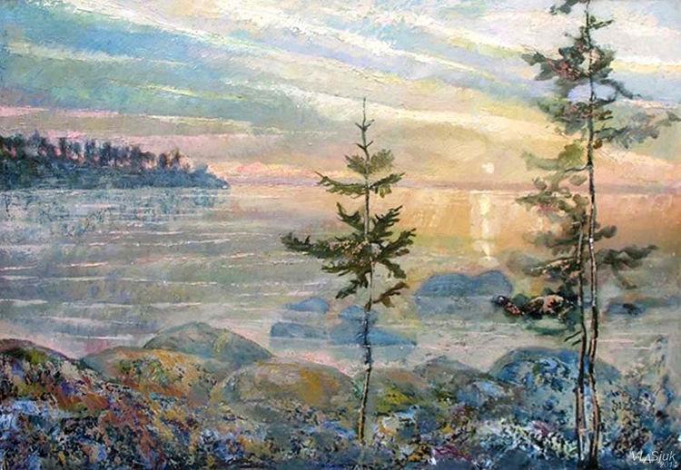 To itself - silence by Alexander Vlasyuk - search and link Fine Art with ARTdefs.com