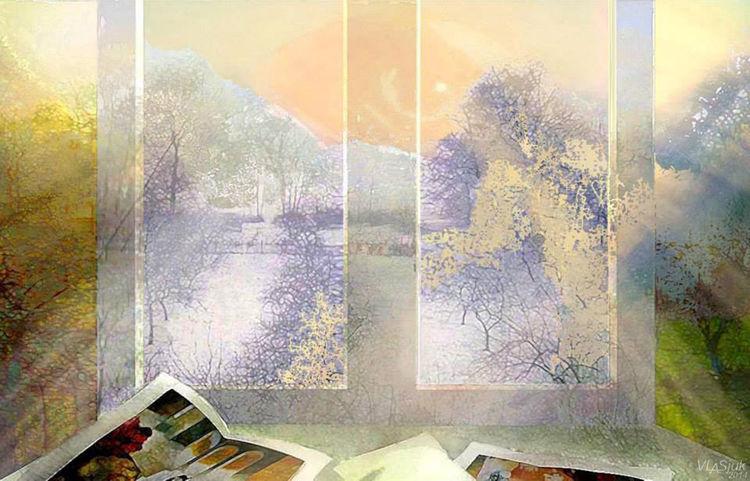 My world by Alexander Vlasyuk - search and link Fine Art with ARTdefs.com