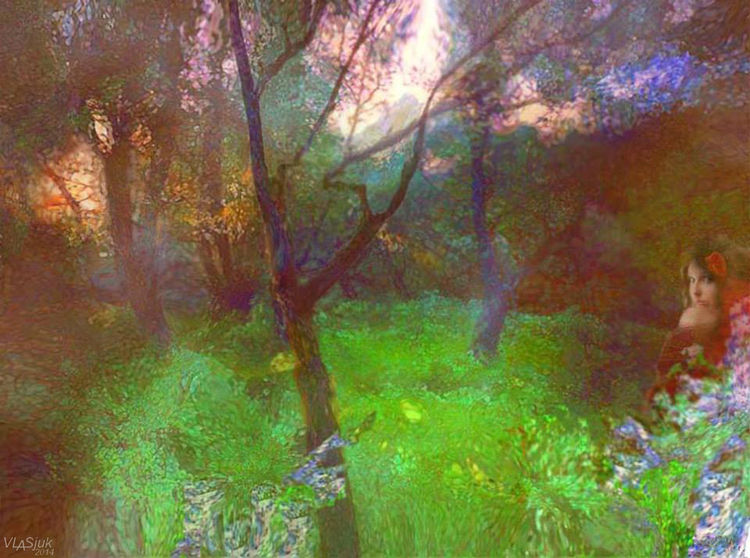 Miracles of Lositsky Park by Alexander Vlasyuk - search and link Fine Art with ARTdefs.com