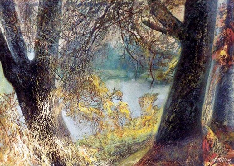 Autumn by Alexander Vlasyuk - search and link Fine Art with ARTdefs.com
