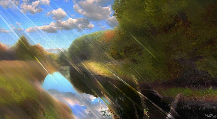 Breath of Autumn by Alexander Vlasyuk - search and link Fine Art with ARTdefs.com