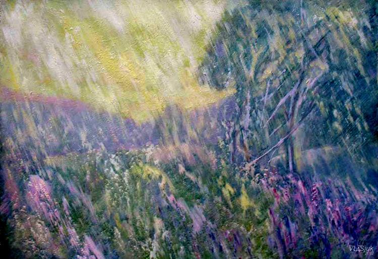 Morning glow by Alexander Vlasyuk - search and link Fine Art with ARTdefs.com