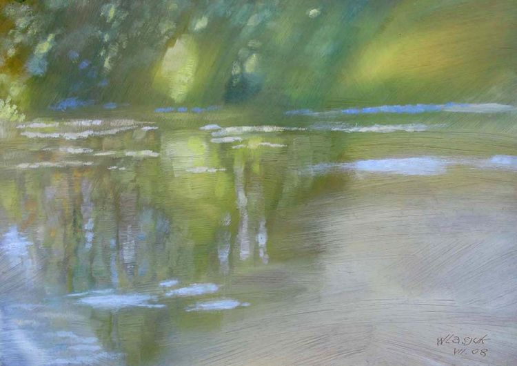 Reflections by Alexander Vlasyuk - search and link Fine Art with ARTdefs.com