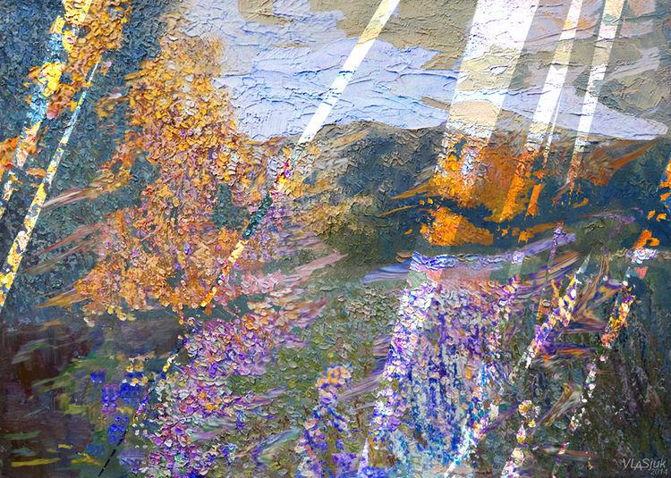 Autumnal metamorphosis by Alexander Vlasyuk - search and link Fine Art with ARTdefs.com
