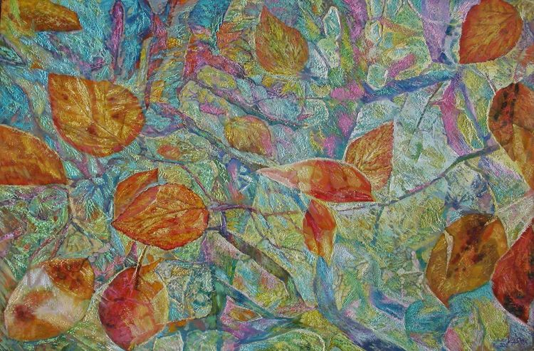 Shine of leaves by Alexander Vlasyuk - search and link Fine Art with ARTdefs.com