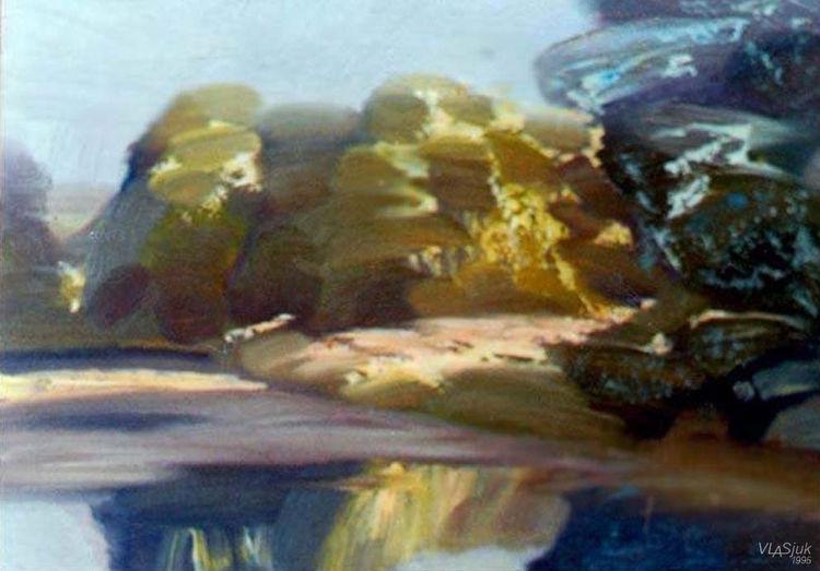 Morning. On the Svisloch River. by Alexander Vlasyuk - search and link Fine Art with ARTdefs.com