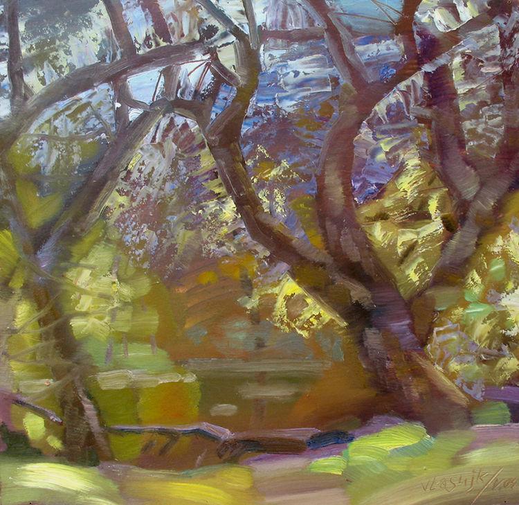 May. Etude. by Alexander Vlasyuk - search and link Fine Art with ARTdefs.com