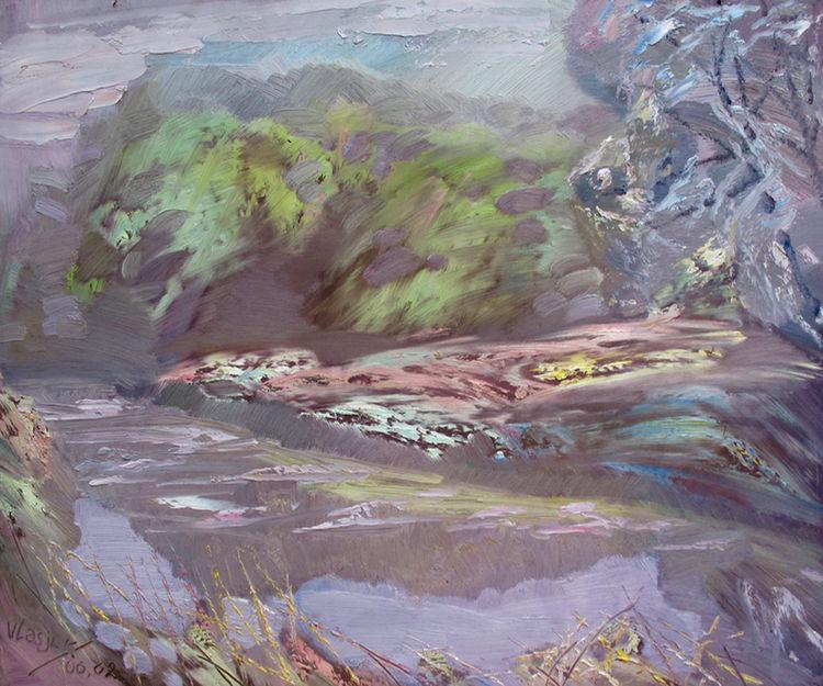 June. Etude. by Alexander Vlasyuk - search and link Fine Art with ARTdefs.com