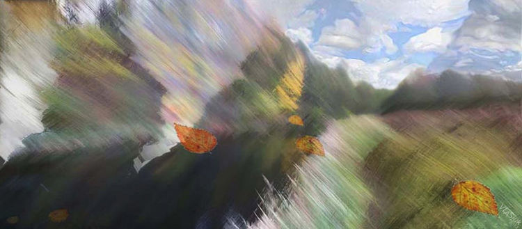 Leaves of Autumn by Alexander Vlasyuk - search and link Fine Art with ARTdefs.com
