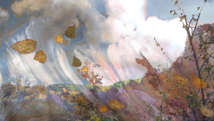 Flight of Autumn by Alexander Vlasyuk - search and link Fine Art with ARTdefs.com